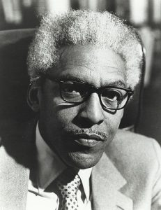 Bayard Rustin, civil rights leader and organizer of the March on Washington.