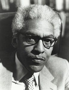 Bayard Rustin, civil rights leader and organizer of the March on Washington.