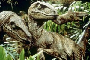 No, this not what velociraptors looked like, probably.